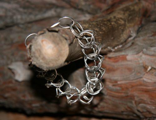 Zilveren ringarmband